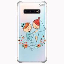 Capa capinha anti shock galaxy s10+ plus seu casam 1004 - Quarkcase