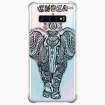 Capa capinha anti shock galaxy s10+ s10 plus 0139 elefante - Quarkcase