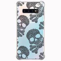 Capa capinha anti shock galaxy s10+ s10 plus 0152 caveiras - Quarkcase
