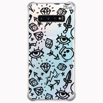 Capa capinha anti shock galaxy s10+ s10 plus 0181 variados - Quarkcase