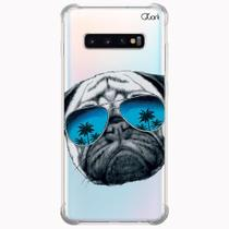 Capa capinha anti shock galaxy s10+ s10 plus 0222 dog - Quarkcase
