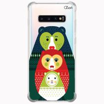 Capa capinha anti shock galaxy s10+ s10 plus 0254 urso - Quarkcase