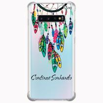 Capa capinha anti shock galaxy s10+ s10 plus 0283 sonhando - Quarkcase