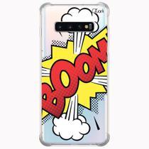Capa capinha anti shock galaxy s10+ s10 plus 0297 boom - Quarkcase