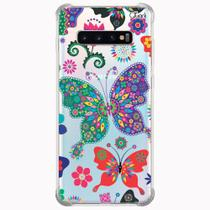 Capa capinha anti shock galaxy s10+ s10 plus 0303 butterfly - Quarkcase