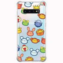 Capa capinha anti shock galaxy s10+ s10 plus 0345 bichinhos - Quarkcase