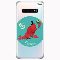 Capa capinha anti shock galaxy s10+ s10 plus 0356 cancer - Quarkcase