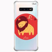 Capa capinha anti shock galaxy s10+ s10 plus 0357 leão - Quarkcase