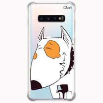 Capa capinha anti shock galaxy s10+ s10 plus 0358 cachorro - Quarkcase