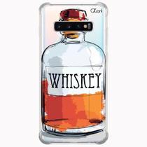 Capa capinha anti shock galaxy s10+ s10 plus 0392 whiskey - Quarkcase