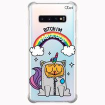 Capa capinha anti shock galaxy s10+ s10 plus 0591 catcornio - Quarkcase