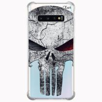 Capa capinha anti shock galaxy s10+ s10 plus 0839 punisher 2 - Quarkcase