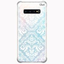Capa capinha anti shock galaxy s10+ s10 plus 0902 floral - Quarkcase