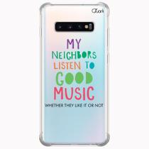 Capa capinha anti shock galaxy s10+ s10 plus 1027 music good - Quarkcase