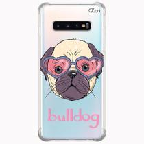 Capa capinha anti shock galaxy s10+ s10 plus 1296 bulldog - Quarkcase