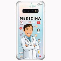 Capa capinha anti shock galaxy s10+ s10 plus 1412 medicina - Quarkcase
