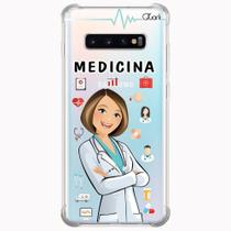 Capa capinha anti shock galaxy s10+ s10 plus 1413 medicina - Quarkcase