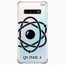 Capa capinha anti shock galaxy s10+ s10 plus 1432 química - Quarkcase