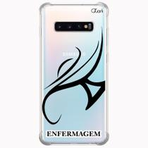 Capa capinha anti shock galaxy s10+ s10 plus 1440 enfermagem - Quarkcase