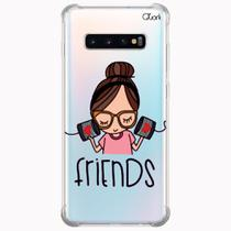 Capa capinha anti shock galaxy s10+ s10 plus 1551 friends - Quarkcase