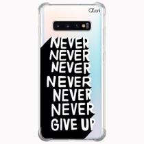 Capa capinha anti shock galaxy s10+ s10 plus 1574 give up - Quarkcase