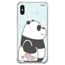 Capa capinha anti shock iphone x panda sac 1592 - Quarkcase