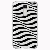 Capa capinha anti shock lg k10 2018 0188 zebra onda - Quarkcase