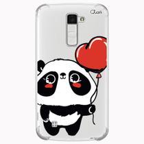 Capa capinha anti shock lg k10 2018 0540 panda love - Quarkcase