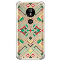 Capa capinha anti shock moto e5 play abstrato 0245 - Quarkcase