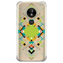 Capa capinha anti shock moto e5 play abstrato 2 0246 - Quarkcase