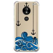 Capa capinha anti shock moto e5 play ancoras 0350 - Quarkcase