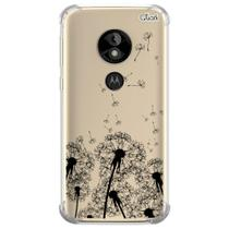 Capa capinha anti shock moto e5 play dente leão 0013 - Quarkcase
