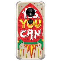 Capa capinha anti shock moto e5 play frases 8 0818 - Quarkcase