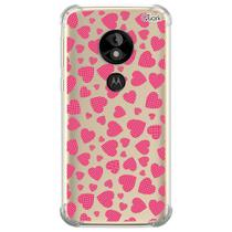 Capa capinha anti shock moto e5 play hearts 2 0714 - Quarkcase