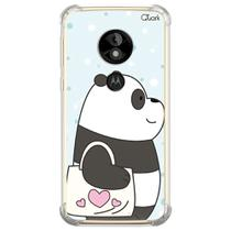 Capa capinha anti shock moto e5 play panda sac 1592 - Quarkcase