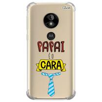 Capa capinha anti shock moto e5 play papai cara 0596 - Quarkcase