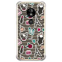 Capa capinha anti shock moto e5 play paris pat 1256 - Quarkcase