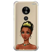 Capa capinha anti shock moto e5 play princesa p 1589 - Quarkcase