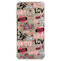 Capa capinha anti shock moto g7 plus love 6 0871 - Quarkcase