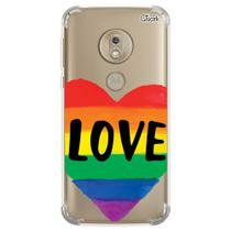 Capa capinha anti shock moto g7 plus love 9 1130 - Quarkcase
