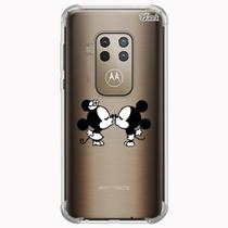 Capa capinha anti shock moto one zoom 0612 mickey ms2 - Quarkcase