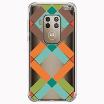 Capa capinha anti shock moto one zoom 0976 abstrato g - Quarkcase