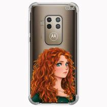 Capa capinha anti shock moto one zoom 1584 princesa g - Quarkcase