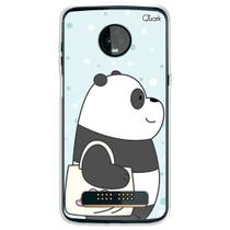 Capa capinha anti shock moto z3 play panda sac 1592 - Quarkcase