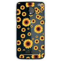 Capa capinha anti shock moto z3 play sun flower 0122 - Quarkcase