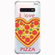 Capa capinha anti shock samsung galaxy s10 1014 pizza love - Quarkcase