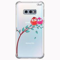 CAPA CAPINHA ANTI SHOCK SAMSUNG GALAXY S10e 0341 LOVE BIRD - Quarkcase