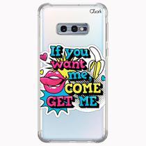 CAPA CAPINHA ANTI SHOCK SAMSUNG GALAXY S10e 0900 WANT ME - Quarkcase