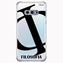 CAPA CAPINHA ANTI SHOCK SAMSUNG GALAXY S10e 1457 FILOSOFIA - Quarkcase