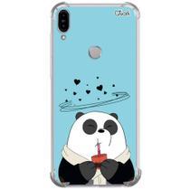 Capa capinha anti shock zenfone max pro (m1) panda choc 1593 - Quarkcase